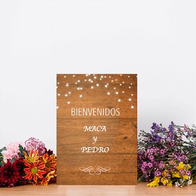 letreros de madera decorativos