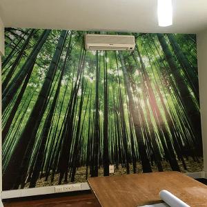 Adhesivo de muro personalizado