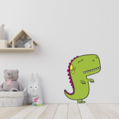 stickers para pared dinosaurio