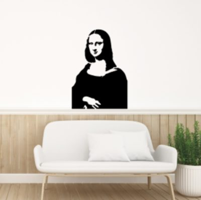 vinilos infantiles Mona lisa