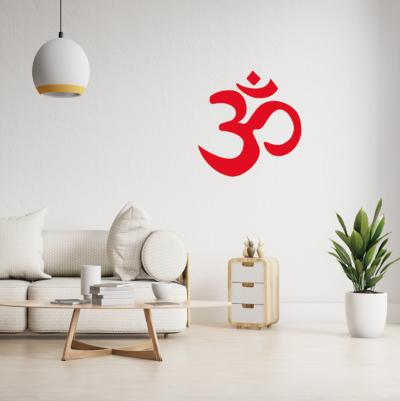 Vinilo decorativo yoga símbolo OM