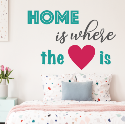 comprar vinilos decorativos Home is where