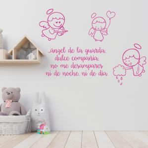 vinilos decorativos infantiles ángeles